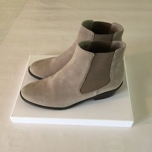Shoes - Taupe/Tan Color Booties